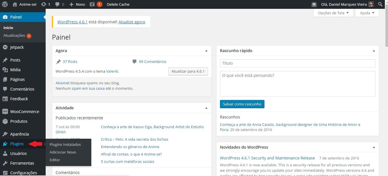 Repositório de plugins WordPress